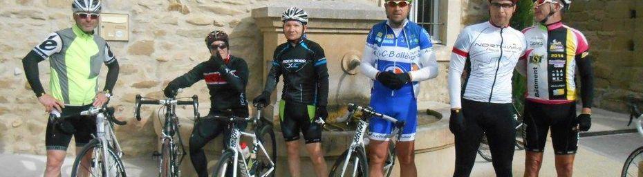 Beau Cyclo Bollénois : ce matin ça décoiffait !!! 107km-720m