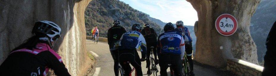 """28/12/2016 : Grand Tour du Ventoux Mistral Cycles, Giant Tricastin et BCB - 151 km en """"été"""" !"""