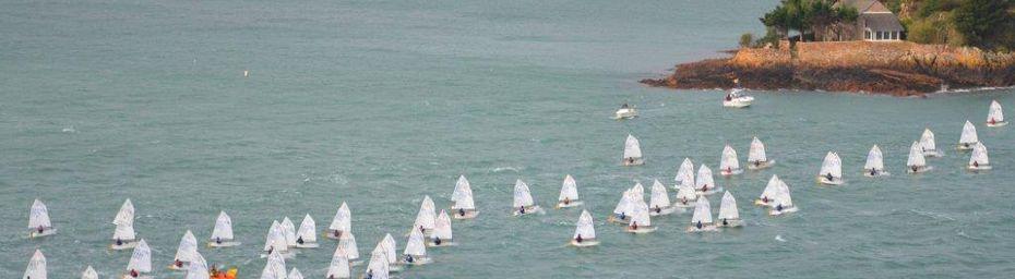 Loguivy de la mer - Championnat de Bretagne Optimist 2016