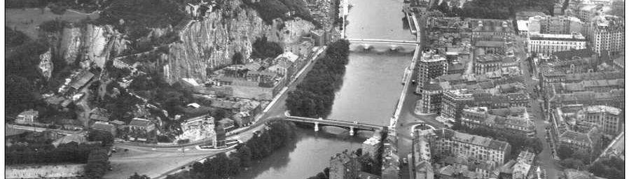 Histoire du centre de Grenoble, des enceintes militaires et de l'urbanisation