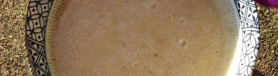 velouté d'asperges anisé