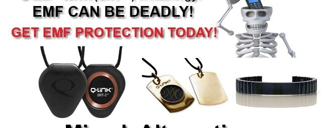 Q-Link ® EMF Protection Products! Using New (SRT ™) Modern technology!