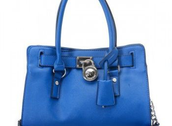 Michael Kors Saffiano Leather Small Blue Tote Bags Outlet 2774553d12fe6