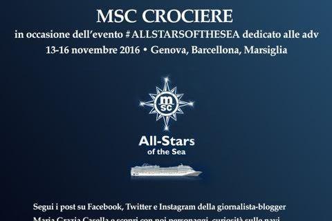 Il primo cruise storytelling su MSC Fantasia con L'Agenzia di Viaggi