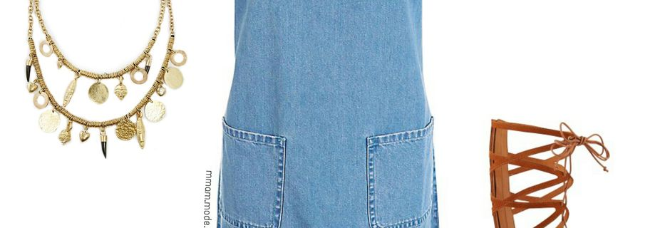 Look du mois : Mini robe + Sandales hautes