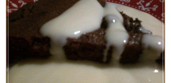 Un fondant au chocolat très fondant et sa crème anglaise express