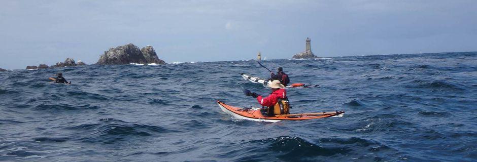Tour de Bretagne en kayak de mer : de Pors Théolen à Plouhinec