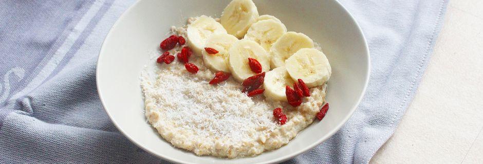 Mon porridge pour une petit déjeuner healthy
