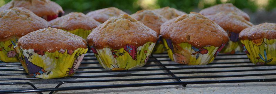 Muffins pomme , beurre salé et canelle
