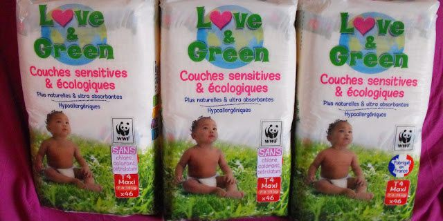 Les couches Love&Green
