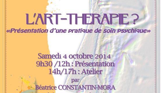 """L'association """"Les sentiers cliniques"""" à Villefranche de Lonchat (près de Bergerac) propose une conférence sur l'art-thérapie"""