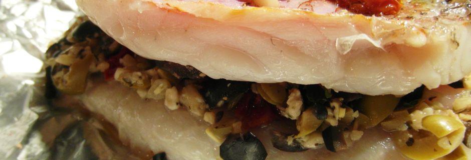 Filets de rouget en papillote aux saveurs de ma Provence