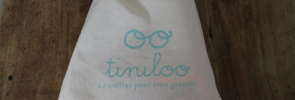 La box Tiniloo de Janvier 2014 - Une belle surprise...