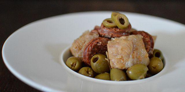 Porc Olives - Chorizo à l'autocuiseur