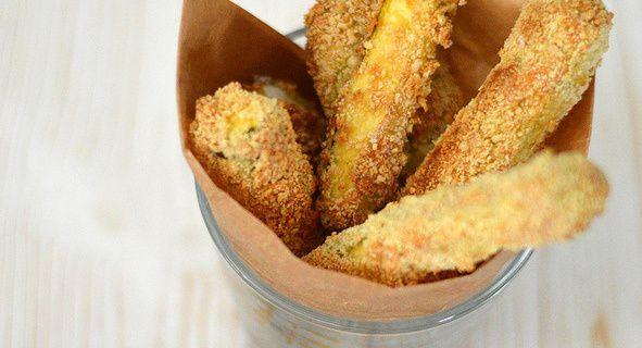 Frites de Courgette au Parmesan