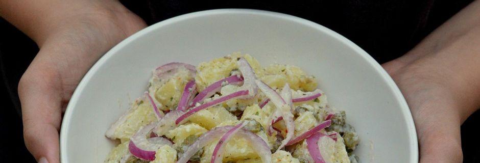 Salade de Pomme de Terre - Oignons - Cornichons