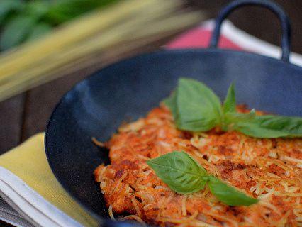 [Concours Recettes MUTTI] Frittata de spaghettis à la Tomate