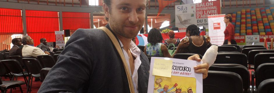 Salon International du Livre d'Abidjan(SILA 2014): dédicace