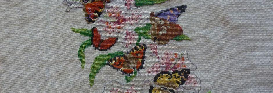 Les lis et les papillons