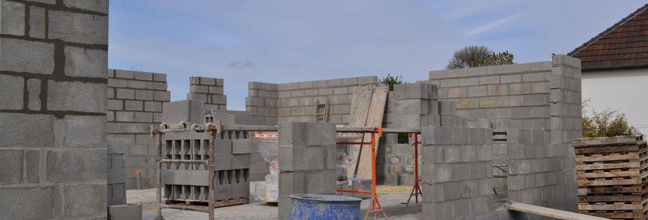 Elévation des murs J3