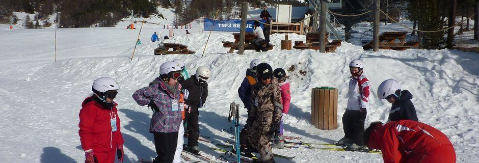 L'après-midi, ski !!!