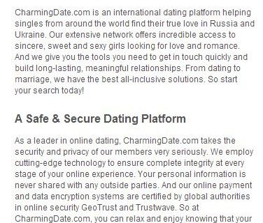 Charmingdate review: Is it scam?