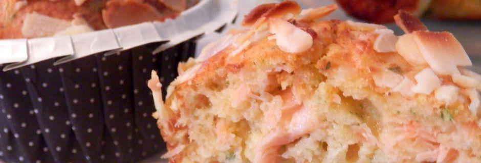 Muffins au Saumon fumé, Persillade et Mozzarella + Mises à l'honneur
