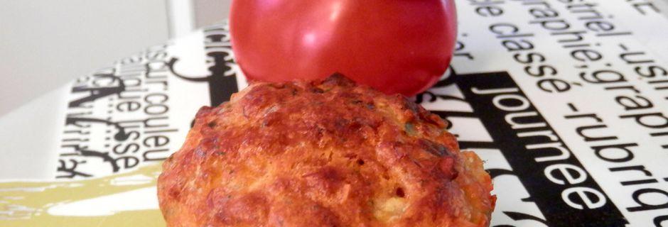 Muffins salés Thon / Crevettes à l'Abondance + Mise à l'honneur