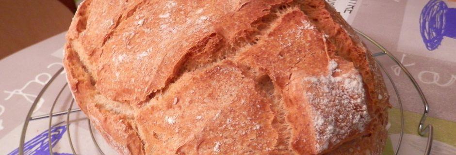 Pain en Cocotte à la farine d'épeautre
