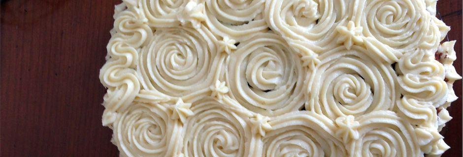 Gâteau à la noix de coco et chocolat blanc