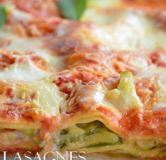 Lasagnes aux tagliatelles de courgettes