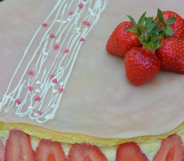 Le fraisier...presque comme Christophe Felder