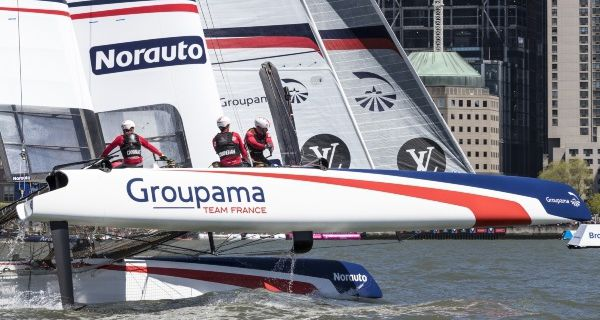 Louis Vuitton America's Cup World Series à Portsmouth sur Canal+ Sport