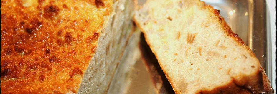 Gateau de pain de seigle à la banane