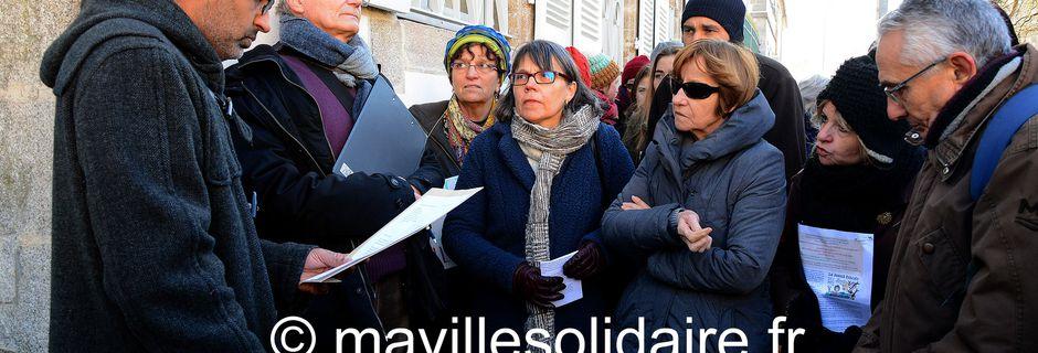 La Roche-sur-Yon. Les associations de soutien aux réfugiés se rassemblent devant la Préfecture.