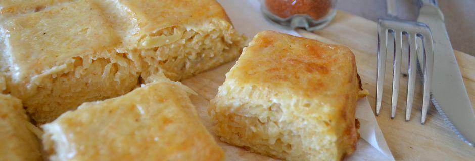 Gâteau de pommes de terre et aux épices