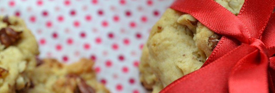 Cookies moelleux au chocolat blanc et noix de pécan