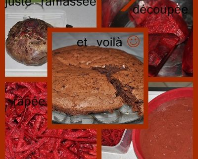 Gâteau choco betterave rouge !!!!