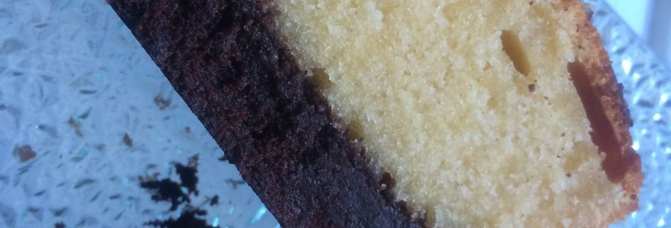Le Brownie Butter Cake