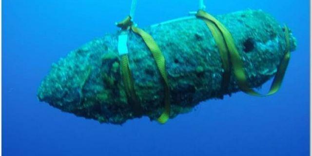 Méditerranée: Près de 8.900 kg équivalent TNT détruits par la Marine Nationale en 2015