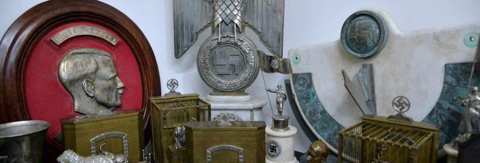 L'une des plus vastes collection d'artefacts nazis a été découverte dans une maison en Argentine (derrière une bibliothèque)