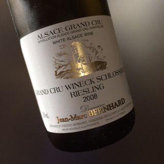Gand cru Wineck-Schlossberg riesling 2008 JM Bernhard