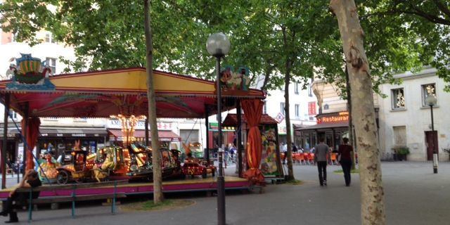 Manège place Torcy
