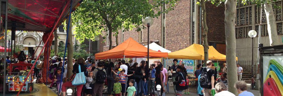Photos de la fête du quartier La Chapelle juin 2014