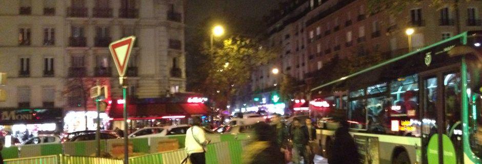 Les travaux de réaménagement de la rue Riquet ont démarré. Le trafic est dense
