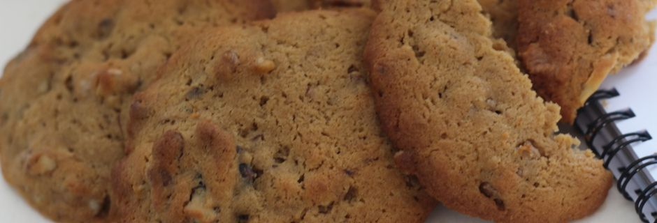 Cookies Noix et Café- Foodista Challenge #22