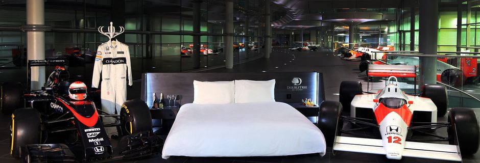 Dormez au McLaren Technology Center lors du Grand Prix d'Australie