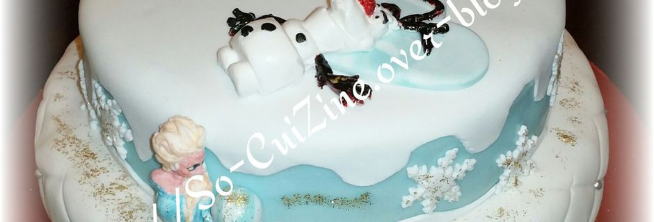 Frozen & Quilted Cake