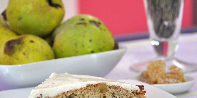 Quince Cake : Cake aux coings comme un Carrot Cake