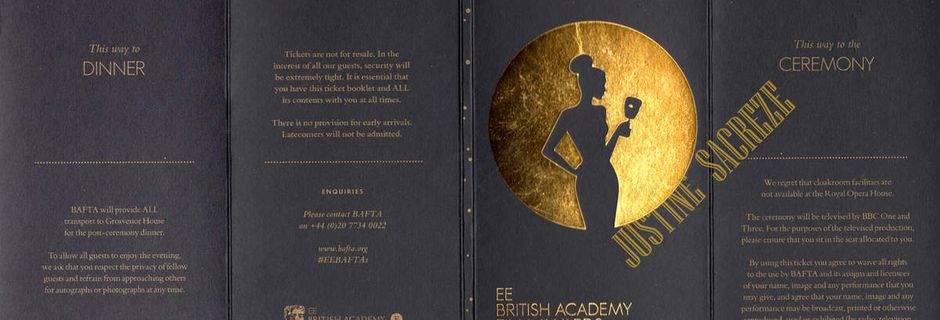 BAFTA 2015, les photos et vidéos sont là !